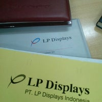 Photo taken at PT LP Displays Indonesia by Pria D. on 2/4/2014