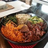 Photo taken at CHAM Korean Bistro by Peter C. on 2/22/2014