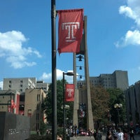 Photo taken at Temple University by Rob S. on 10/5/2012