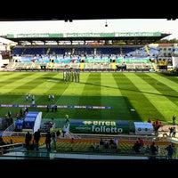 Photo taken at Stadio Ennio Tardini by andtrap on 9/22/2012