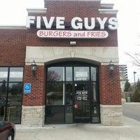 Photo taken at Five Guys by Sean H. on 3/10/2014