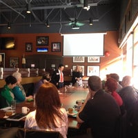Photo taken at Boston Pizza by George M. on 4/22/2014
