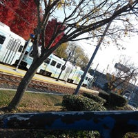 Photo taken at North Avenue Light Rail Station by Darrien G. on 12/3/2016