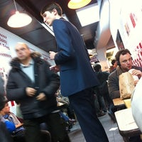 Photo taken at Five Guys by Anne L. on 11/2/2012