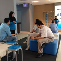 Photo taken at Celcom Blue Cube by Zabri on 10/11/2013