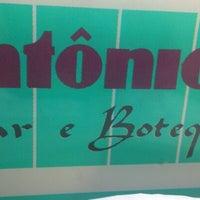 Photo taken at Antonio's Bar e Botequim by Camilla O. on 9/23/2012