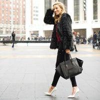 Photo taken at Mercedes-Benz Fashion Week by Lisa D. on 2/20/2015