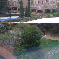 Photo taken at Rafaelhoteles Atocha by Robert V. on 4/6/2013