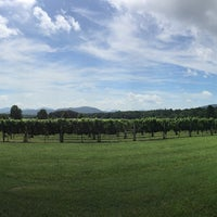 Photo taken at Afton Mountain Vineyards by Eric V. on 8/10/2016
