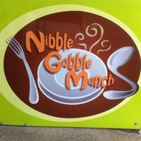Photo taken at Nibble Gobble Munch by Merendi L. on 10/10/2012