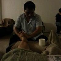 Photo taken at Thai Massage by Jenny Low K. on 5/4/2013