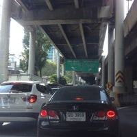 Photo taken at North Ploenchit Exit by ShowpowMay J. on 11/23/2012