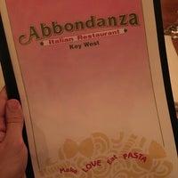 Photo taken at Abbondanza Italian Restaurant by Alexander T. on 7/2/2016