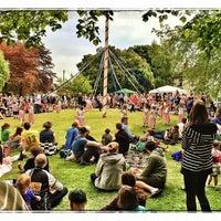 Photo taken at Pirton Village Green by Rupert H. on 5/5/2014