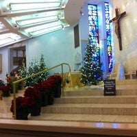 Photo taken at Shrine of the Most Holy Redeemer by Stephanie L. on 1/13/2013