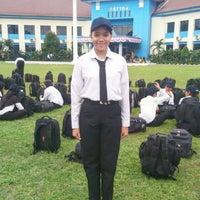 Photo taken at Sekolah Tinggi Transportasi Darat (STTD) by Pingkan G. on 8/16/2016