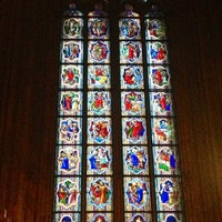 Photo taken at Cologne Cathedral by Wladi M. on 3/8/2013