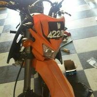 Photo taken at Kedai motosikal PMM Motors by muhd z. on 11/19/2015