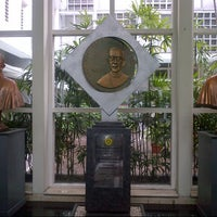 Photo taken at Universitas Katolik Parahyangan (UNPAR) by Widhiarini K. on 1/16/2014