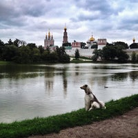 Photo taken at Novodevichy Convent by Artiom K. on 7/27/2013