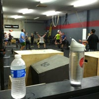 Photo taken at CrossFit Lewes by Austin on 12/17/2012