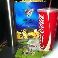 Photo taken at Village World Cinemas by Gina T. on 11/3/2012