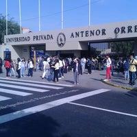 Photo taken at Universidad Privada Antenor Orrego UPAO by Cynthia Julissa T. on 6/22/2013