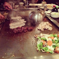 Photo taken at Saito's Japanese Steakhouse by Mike F. on 1/27/2013