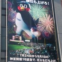 Photo taken at Meiji Jingu Stadium by くろつば on 7/12/2013