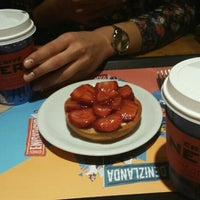 Photo taken at Caffé Nero by Buse Y. on 11/26/2016