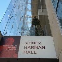 Photo taken at Shakespeare Theatre Company - Harman Hall by Vegan E. on 1/6/2013