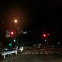 Photo taken at 板倉 交差点 by 世界のGORO on 4/17/2014