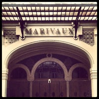 Photo taken at Marivaux Hotel by Jeroen C. on 10/6/2012