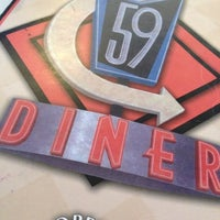 Photo taken at 59 Diner by Hannah T. on 10/31/2012