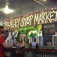 Photo taken at Trolley Stop Market by Jeffrey B. on 9/28/2012