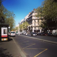 Photo taken at Métro Odéon [4,10] by Roman Y. on 5/1/2013