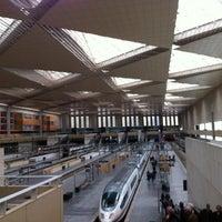 Photo taken at Estación de Zaragoza - Delicias by Fernando T. on 2/2/2013