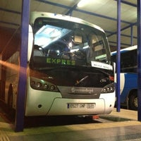 Photo taken at Estación de Autobuses de Málaga by Chris H. on 12/1/2012