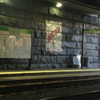 Photo taken at MBTA Fenway Station by SoYoung C. on 6/20/2013