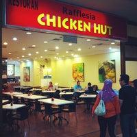 Photo taken at Rafflesia Chicken Hut by penman on 1/19/2013