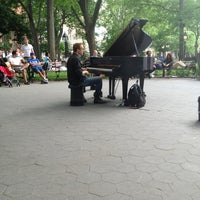 Photo taken at Washington Square Park by Harriet M. on 6/2/2013