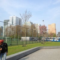 Photo taken at Tram 24 Centraal Station - VU by Diego S. on 5/6/2013