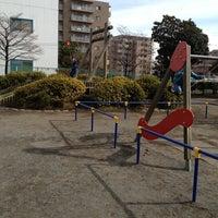 Photo taken at 鷹の子児童公園 by yasuda0510 on 2/9/2013
