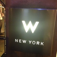 Photo taken at W New York by Oyinkan G. on 10/17/2013