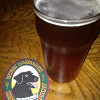 Photo taken at Lucky Labrador Beer Hall by Scott E. on 4/20/2013