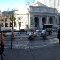 Photo taken at New York Public Library - Muhlenberg by Bernardo S. on 1/25/2014