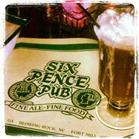Photo taken at Six Pence Pub by GoodEats M. on 2/24/2013