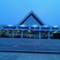 Photo taken at Sultan Ahmad Shah Airport (KUA) by Budoxe L. on 7/27/2013