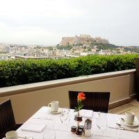 Photo taken at Hotel Grande Bretagne by Kaki L. on 5/14/2013