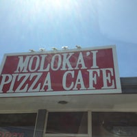 Photo taken at Molokai Pizza Cafe by Marcy F. on 4/28/2013